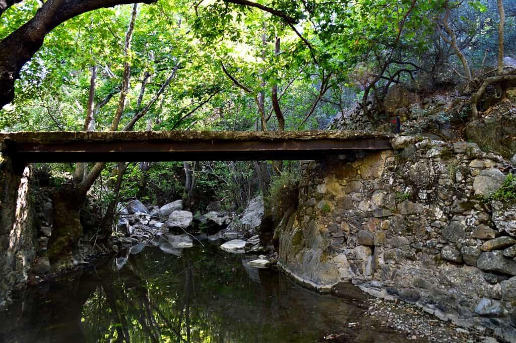Chios island, Kampia Gorge