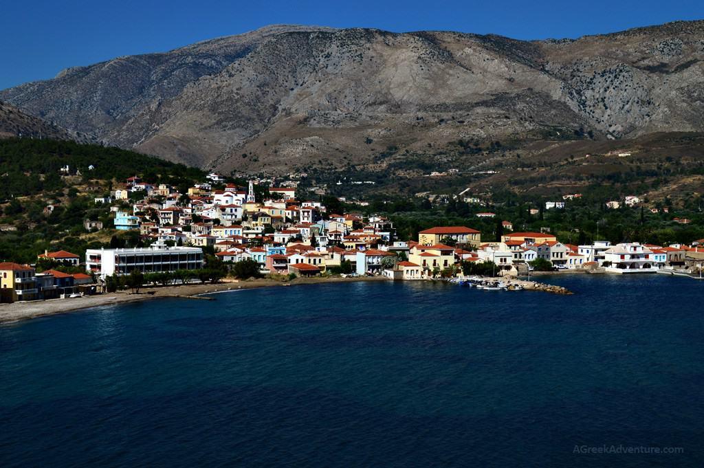 Chios island, Lower Kardamila