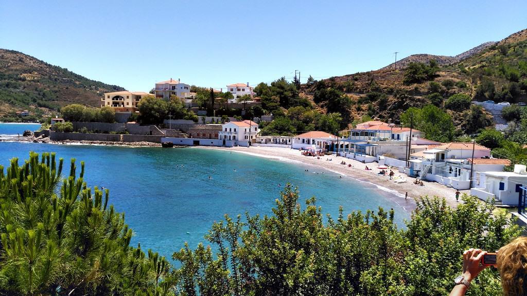 Chios island, Nagos Beach