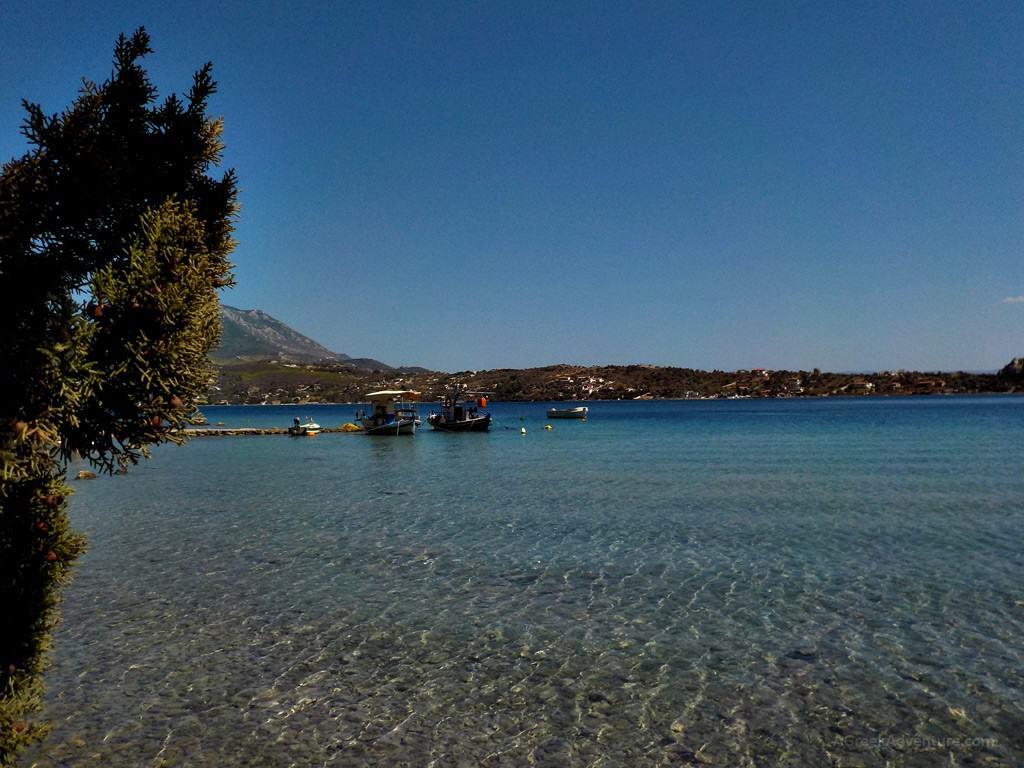 Heraion Loutraki near Athens: LightHouses, Beaches, Ancient Ruins