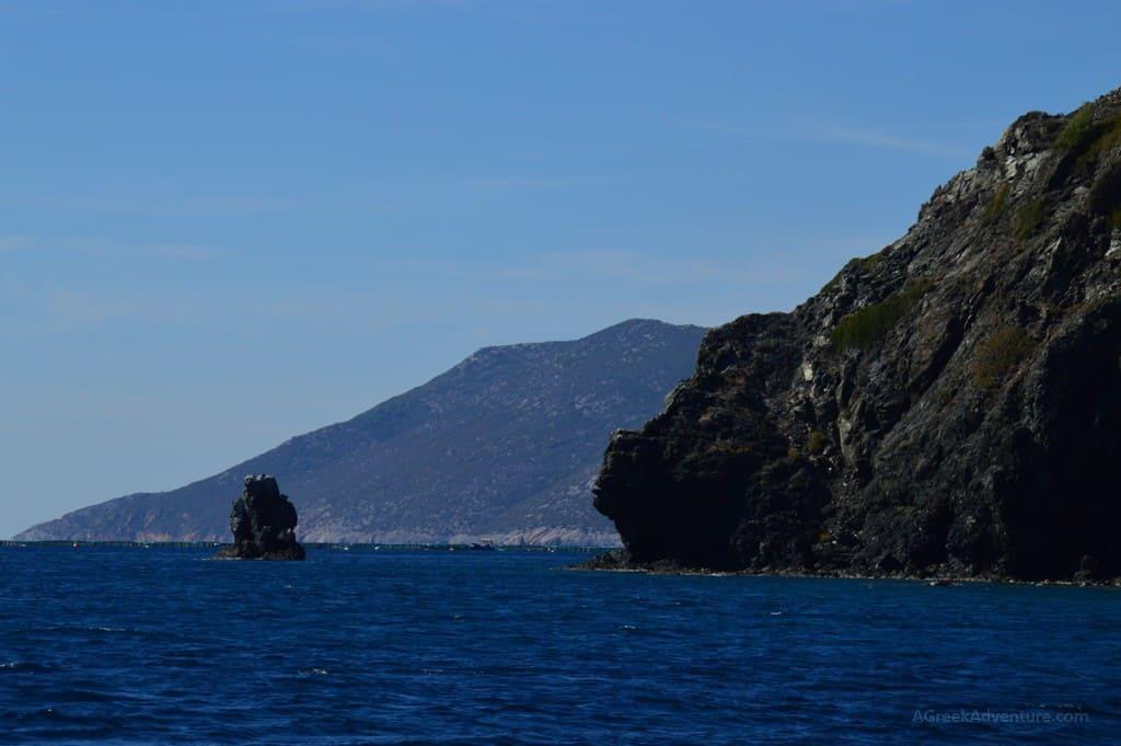 Sailing Lesvos from Mytilene to Gera Gulf