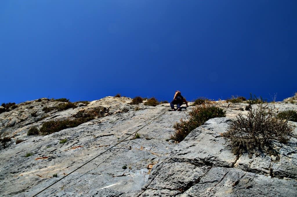 Rock Climbing Plomari Lesvos