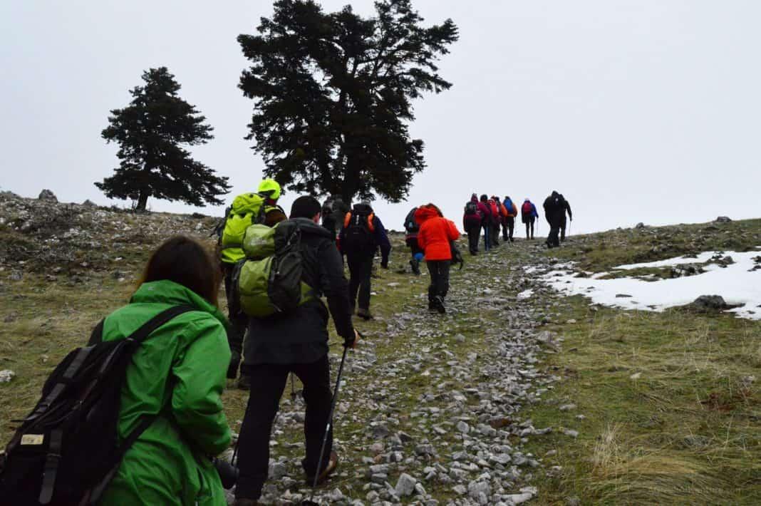 Trekking Up to Kirfi Mountain Top