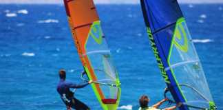 Windsurfing, Ixia – Rhodes at Surfers Paradise