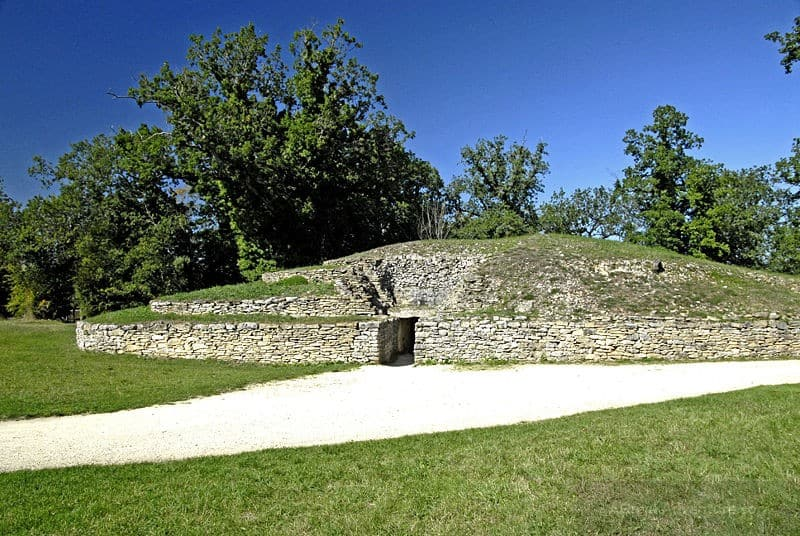 Oldest Buildings In The World - Tumulus of Bougon