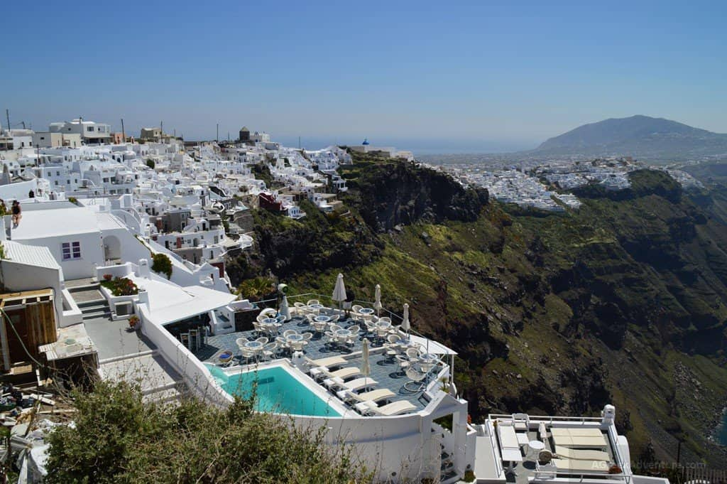 Thira Santorini Capital of Beauty in Caldera