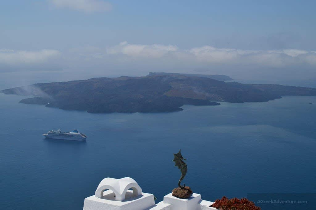 Whitewashed Santorini Fira Greece Beauty