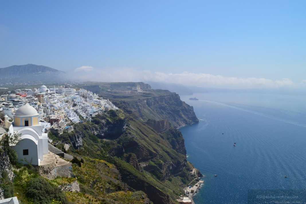 Thira Santorini Capital of Beauty in Caldera