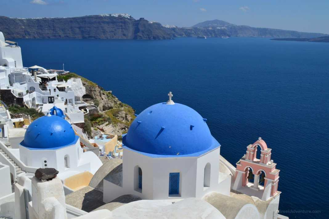 Hiking Santorini Greece 20km From Thira To Oia And Back