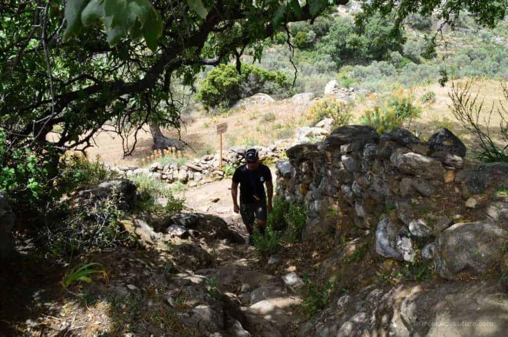 Hiking Naxos Routes: Elaiolithos to Panagia Drossiani to Chalki Village