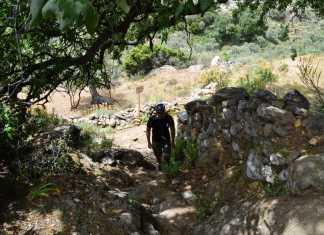 Hiking Naxos Routes: Elaiolithos to Panagia Drossiani to Chalki Circular Route