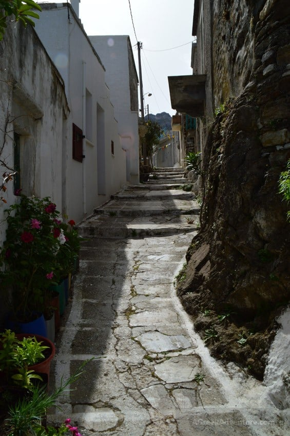 Hiking Naxos Routes: Elaiolithos to Panagia Drossiani to Chalki Circular Route
