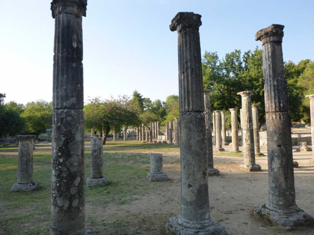 Ancient Olympia Greece Greeks Don't Play Games
