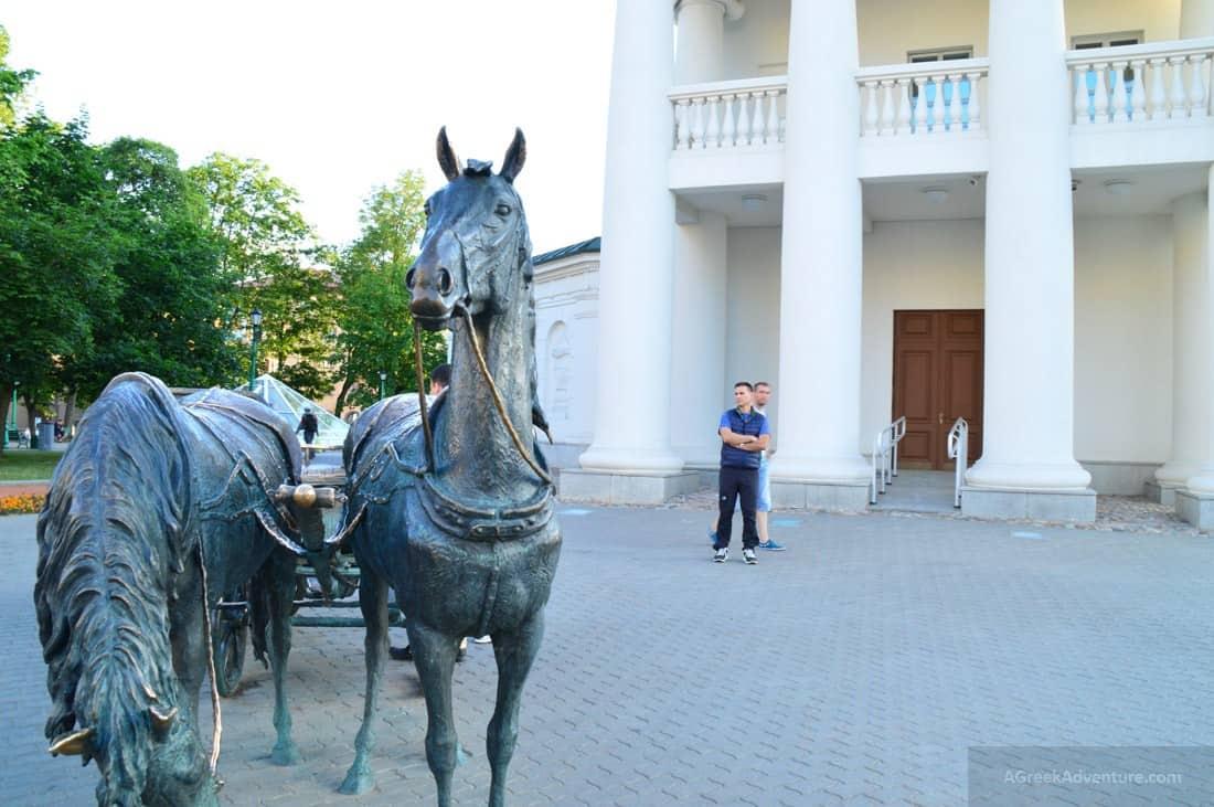 Glorious Summer Walk-Through Minsk, Belarus