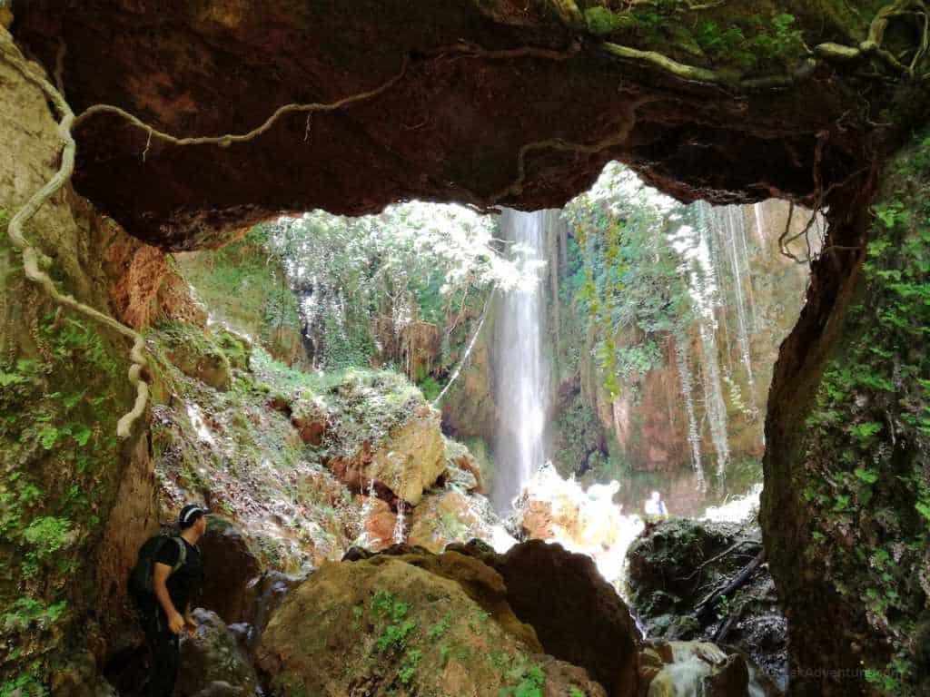 Waterfalls in Greece: Nemouta Waterfalls, Erimanthos Mountain