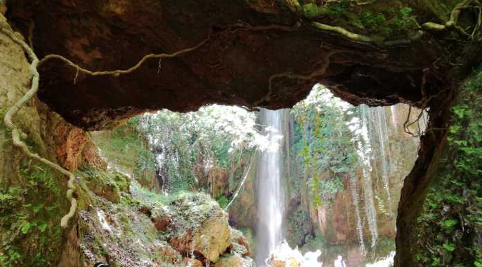 Waterfalls in Greece: Nemouta Waterfalls, Erimanthos Mountain