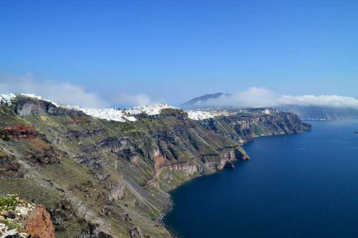 Santorini Greece Natural Resources