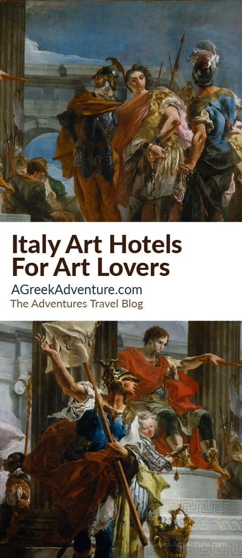 Italy Art Hotels For Art Lovers