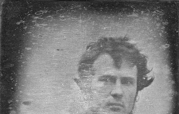 First Selfie Photo in the World in 1839