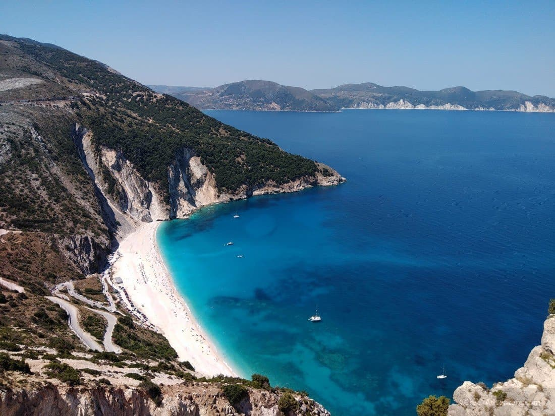 Spectacular Kefalonia Island Beaches & Caves