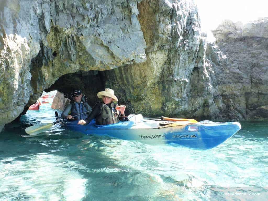 Our Skopelos Holidays: Sea Kayak Trip