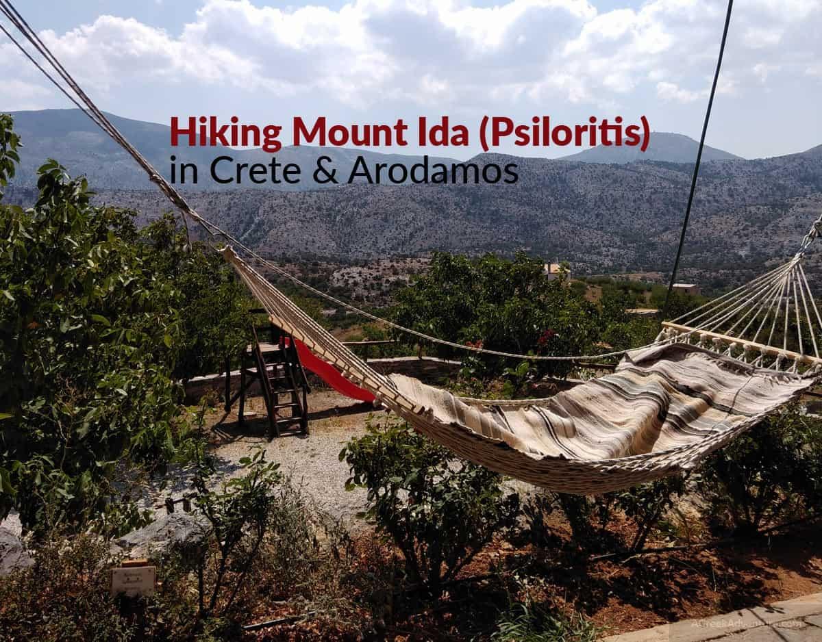Wild Hiking Mount Ida Psiloritis In Crete Greece