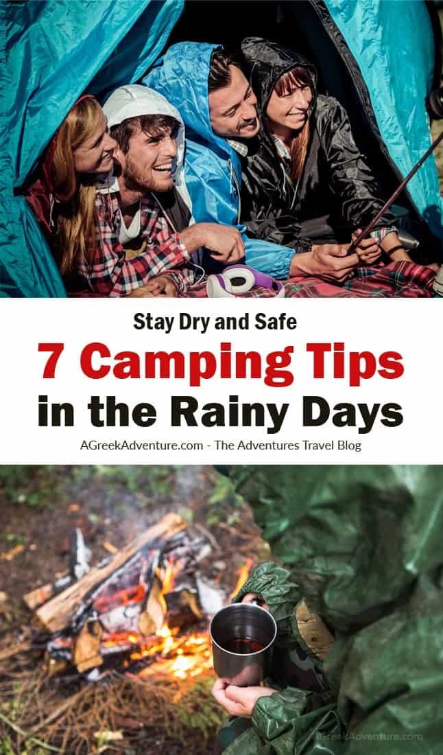 Stay Dry And Safe With These 7 Camping Tips In The Rainy