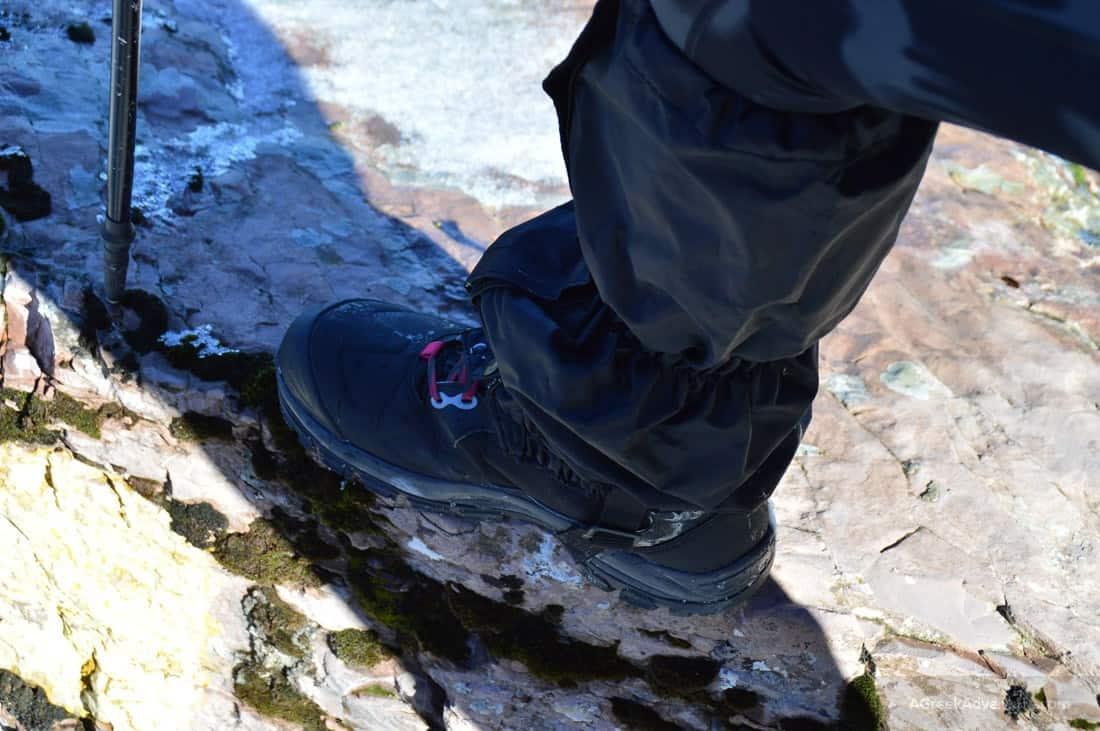 Testing Decathlon Trekking Gear While Climbing in Karpenisi