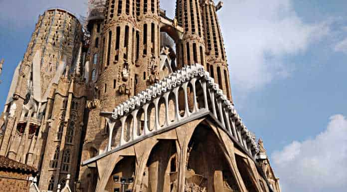 La Sagrada Familia & City of Barcelona