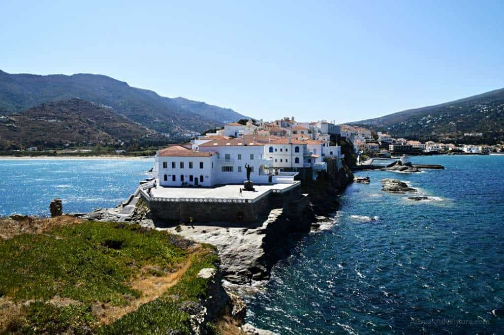 2 Days in Andros Greece