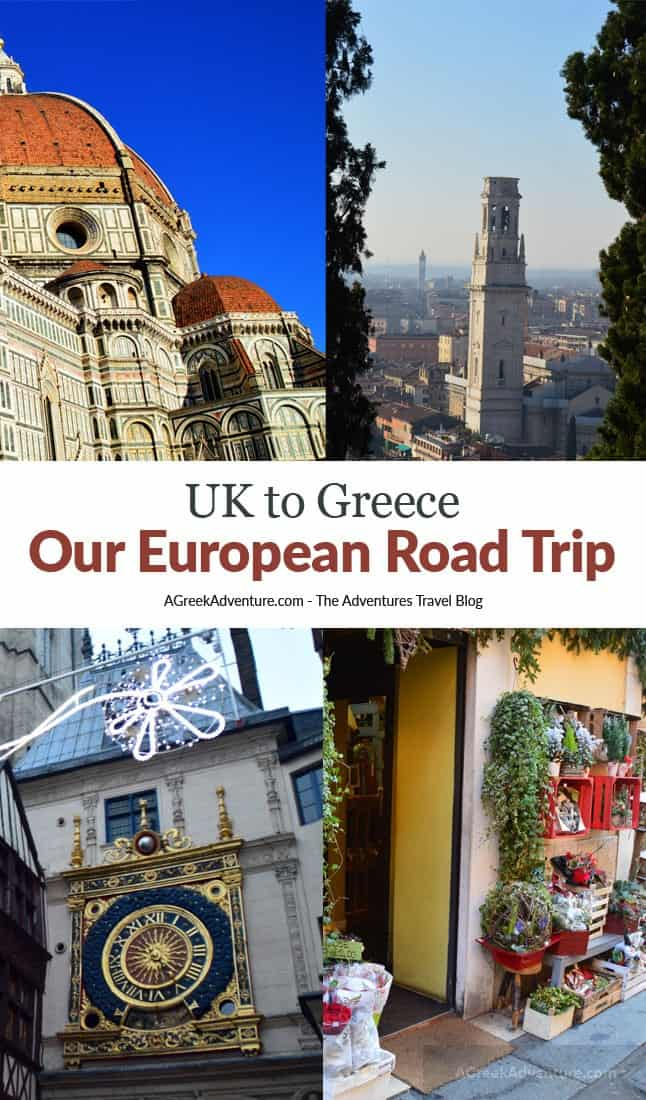 Europe Road Trip Adventure: UK to Greece