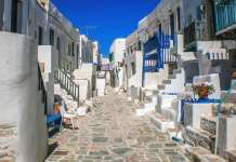 Folegandros Island in the Aegean Sea