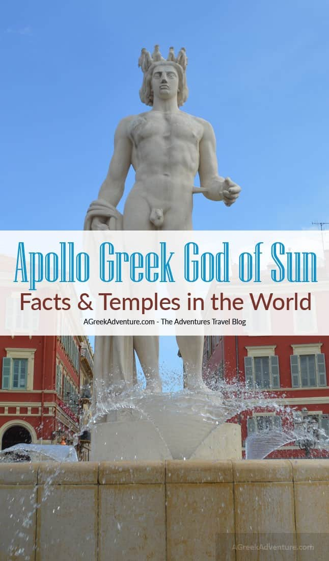 Apollo Greek God of Sun, Light, Music, Prophecy