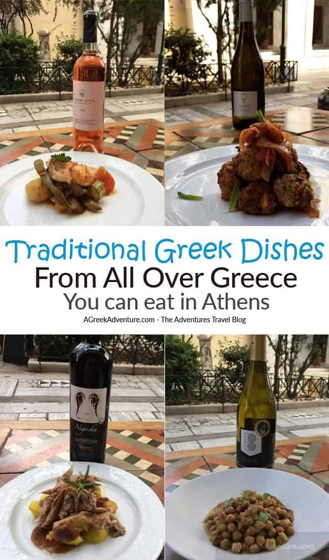Best Traditional Greek Food in Athens Greece