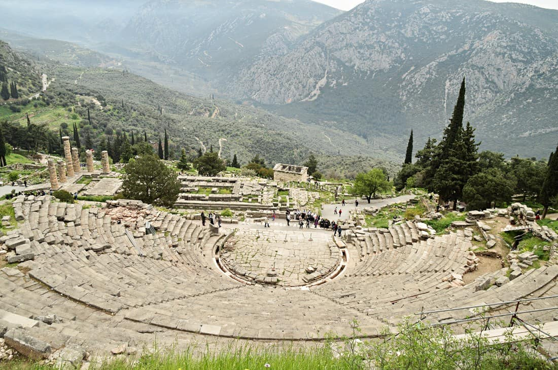 Delphi Greece: Oracles, Antiquity, Galaxidi