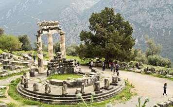 Delphi Greece: Oracles, Antiquity, Galaxidi