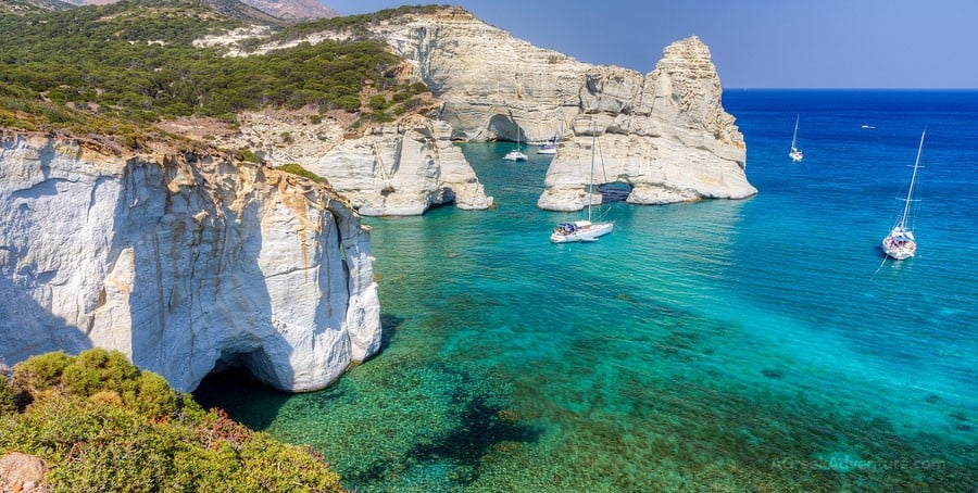 Spectacular 7 Days in Best Milos Beaches and Villages