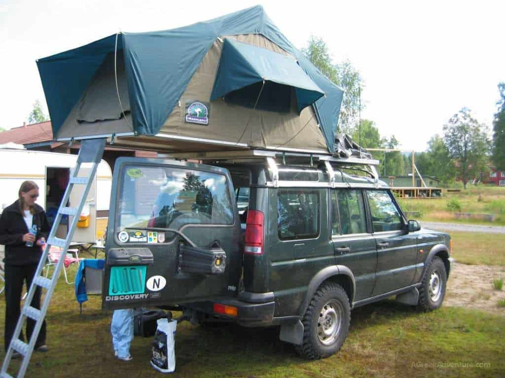 Hard Shell Roof Top Tent for Camping