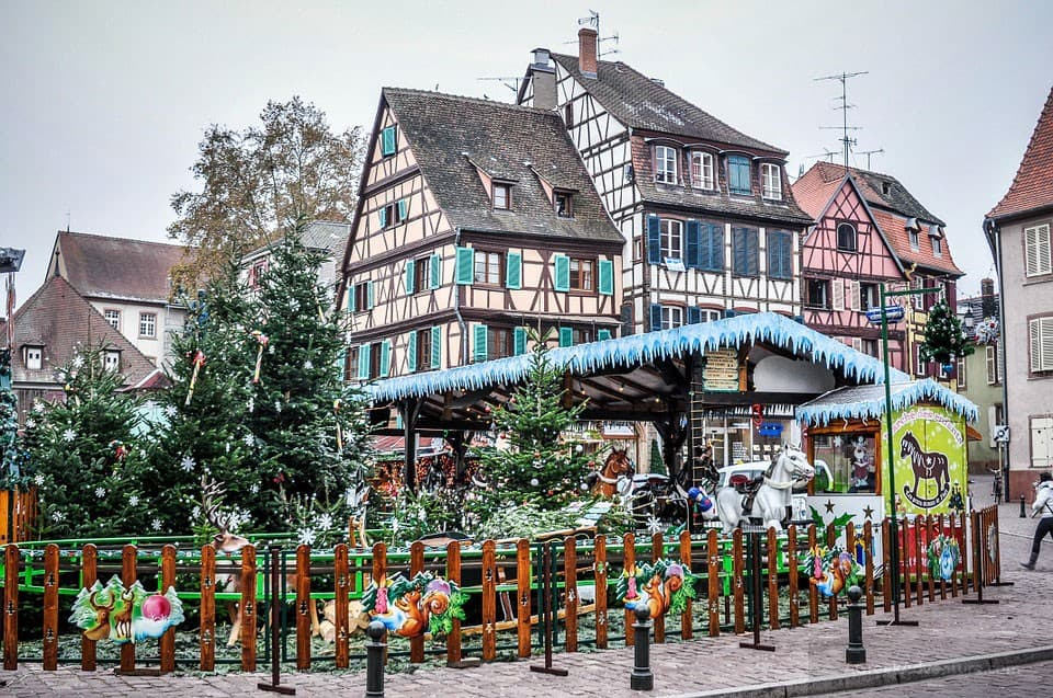 Festivities in Colmar