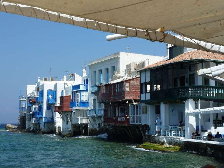 How to Get From Mykonos to Santorini? Flights & Ferries