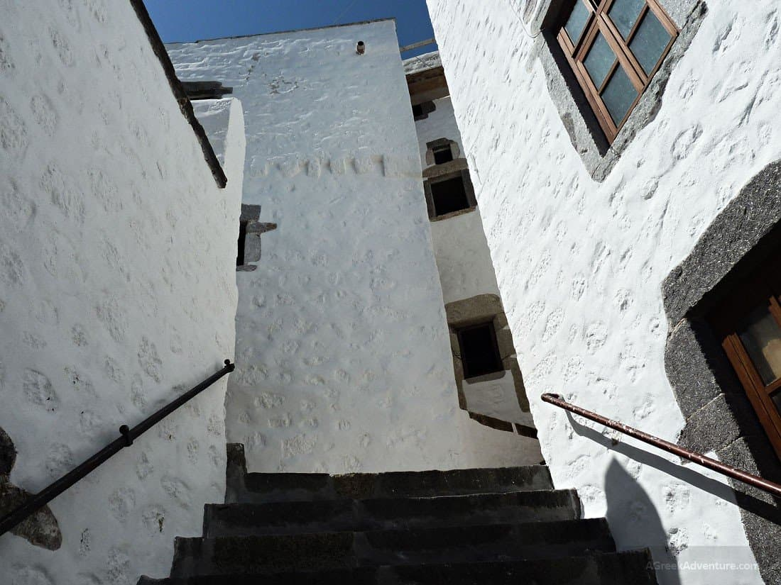 Alleys of the Medieval Chora of Patmos