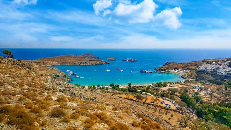 Best Beaches on Rhodes Greece
