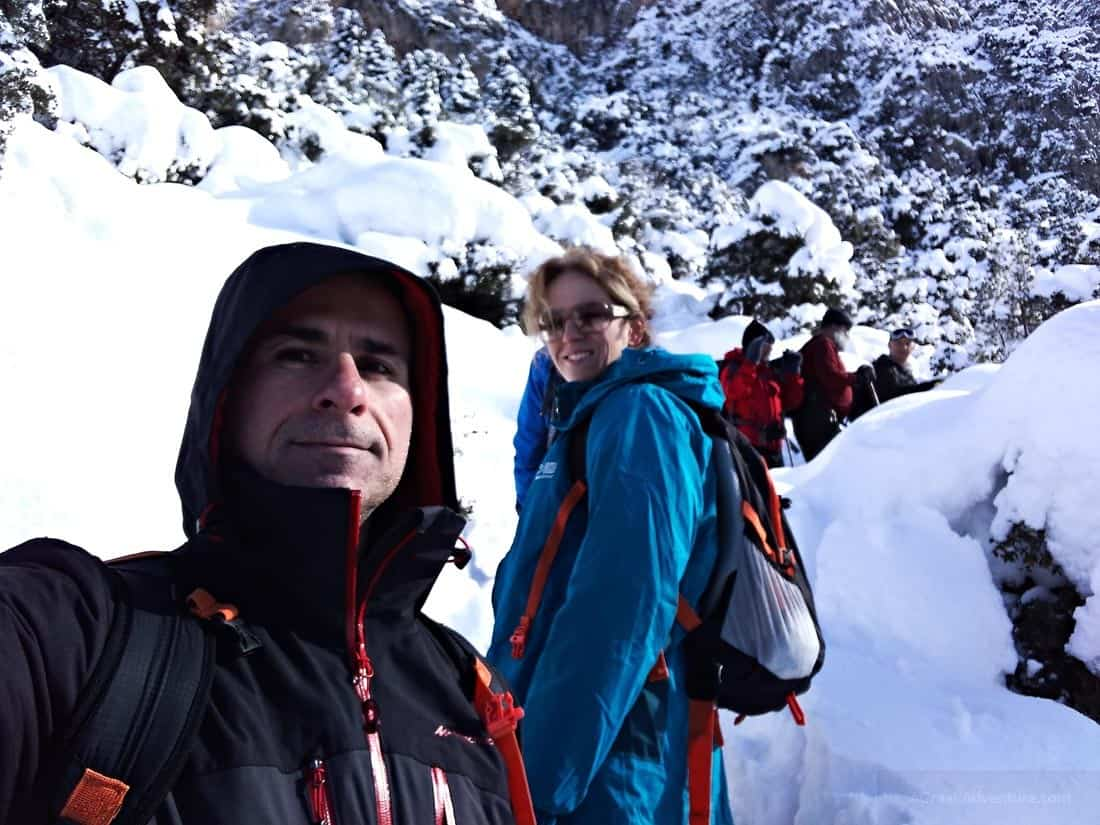 Mount Parnassus Greece Snow Trekking - Ultralight Backpacking Gear