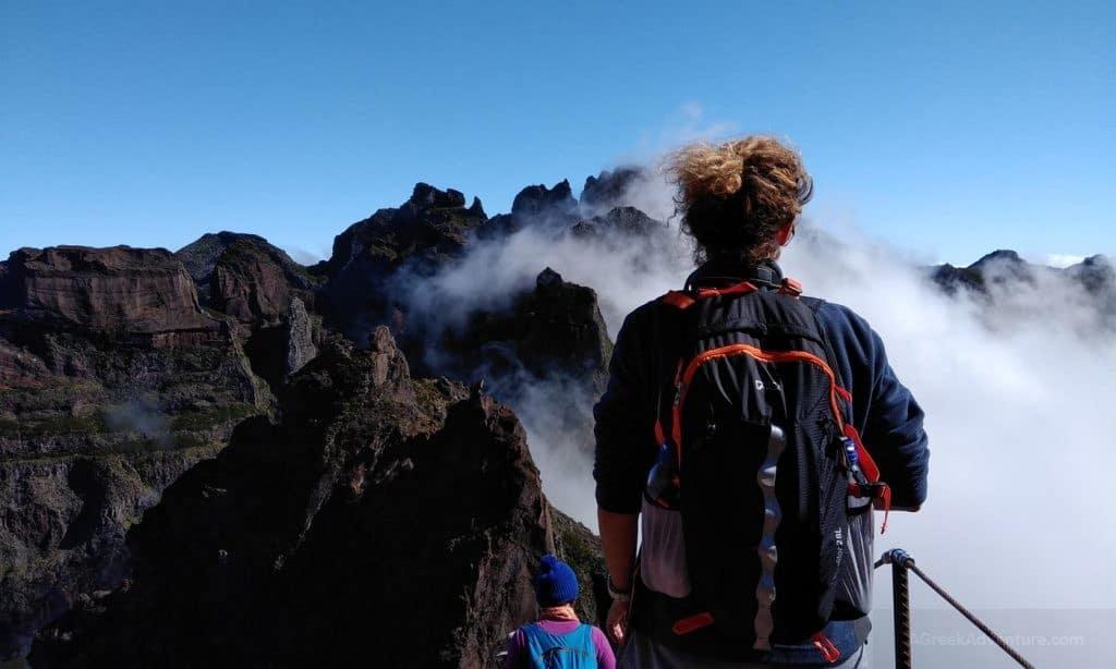 Trekking Pico Ruivo Madeira to Pico Do Arierio