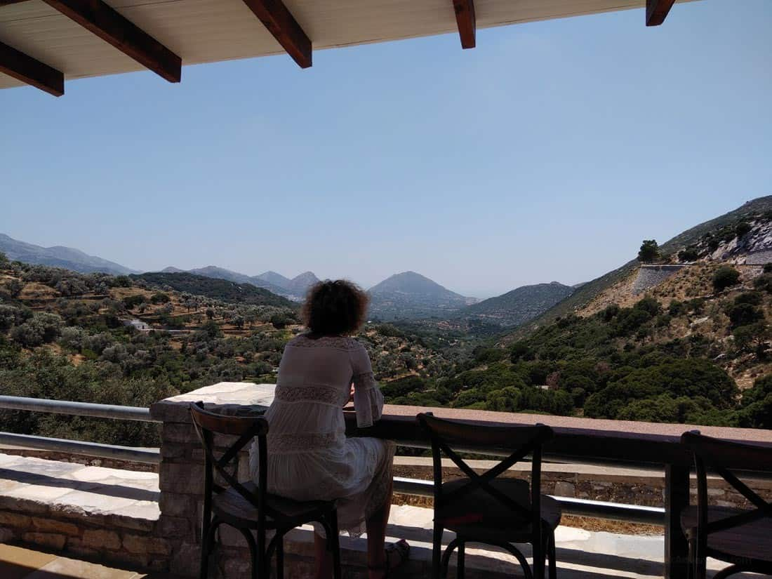Local Naxos Food Away From Chora