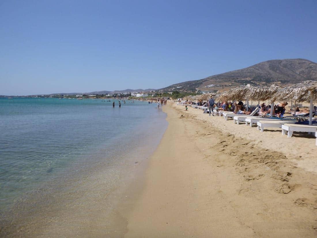 Golden Beach Paros
