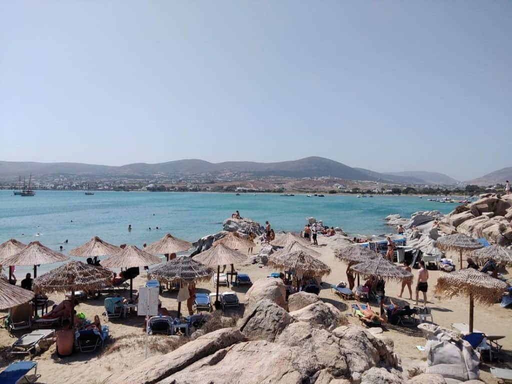 Kolimpithres Beach Paros - Weather in Greece