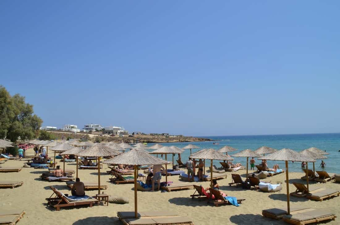 Punda Beach Paros
