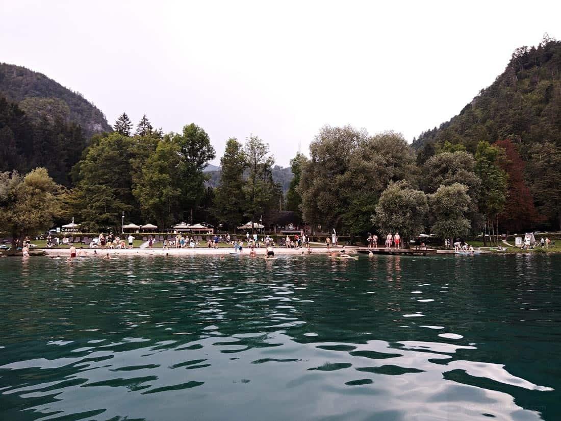 Activities at Lake Bled