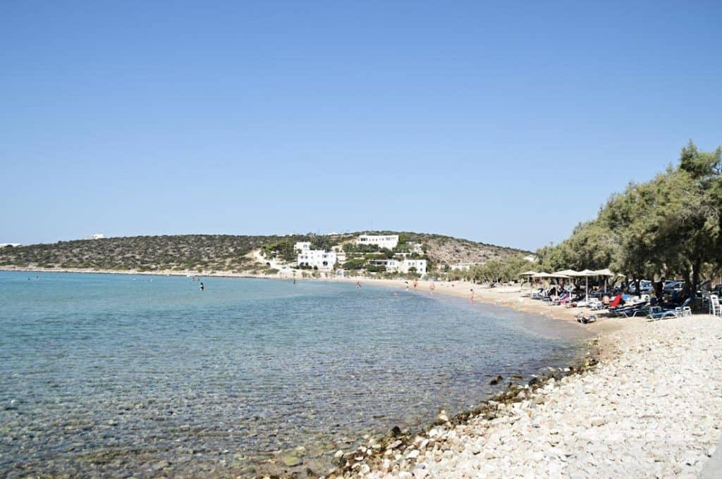 Aliki Beach - Best Beaches in Paros Island